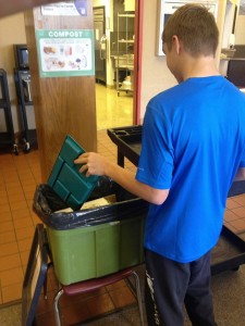 WHS Student Composting