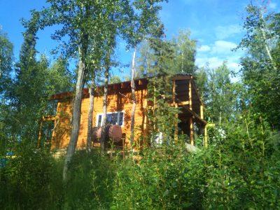 Cabin in Galena near Yukon river