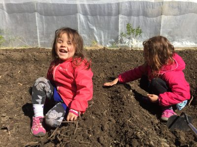 Don't garden for kids, garden with kids.