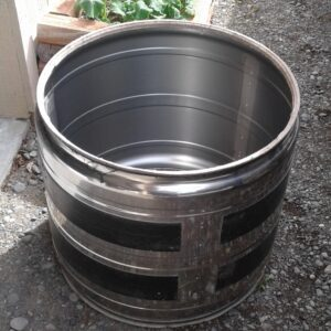 Drum from dismantled dryer